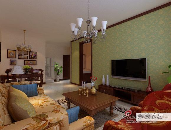 简约 二居 客厅图片来自用户2556216825在大兴阳光波尔多简约家园67的分享