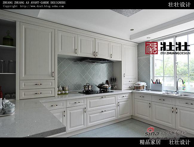 欧式 别墅 厨房图片来自用户2557013183在成功男400平欧式银贵生活41的分享