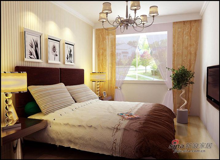 简约 二居 卧室图片来自用户2557979841在保利海上五月花29的分享