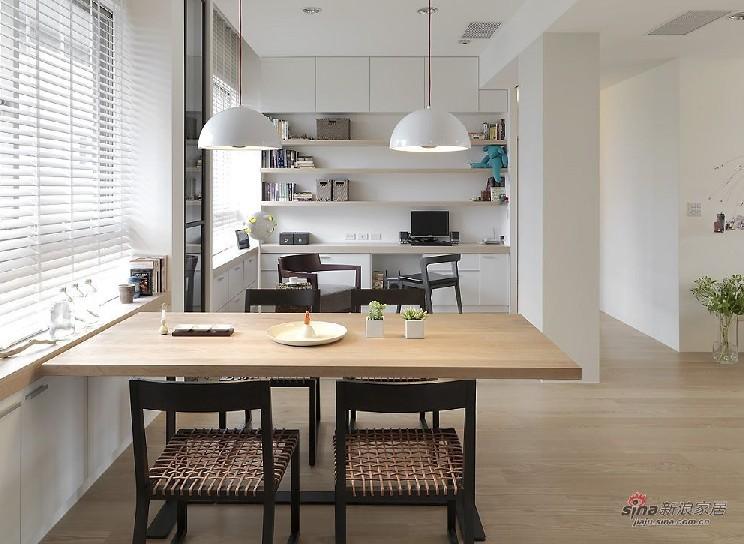 简约 二居 餐厅图片来自用户2738813661在6万造112平米日式简约风格93的分享