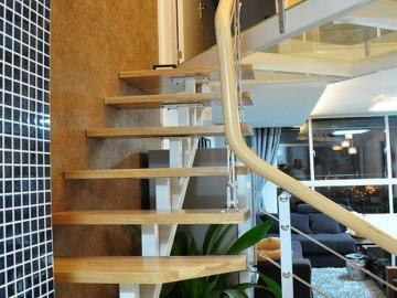 巧改55平米1层变2层Loft80