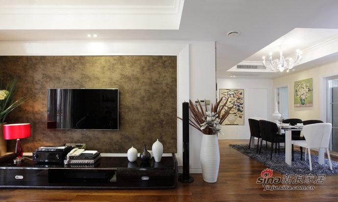 简约 四居 客厅图片来自装修微日记在【高清】8万装132平低调奢华简约4居66的分享