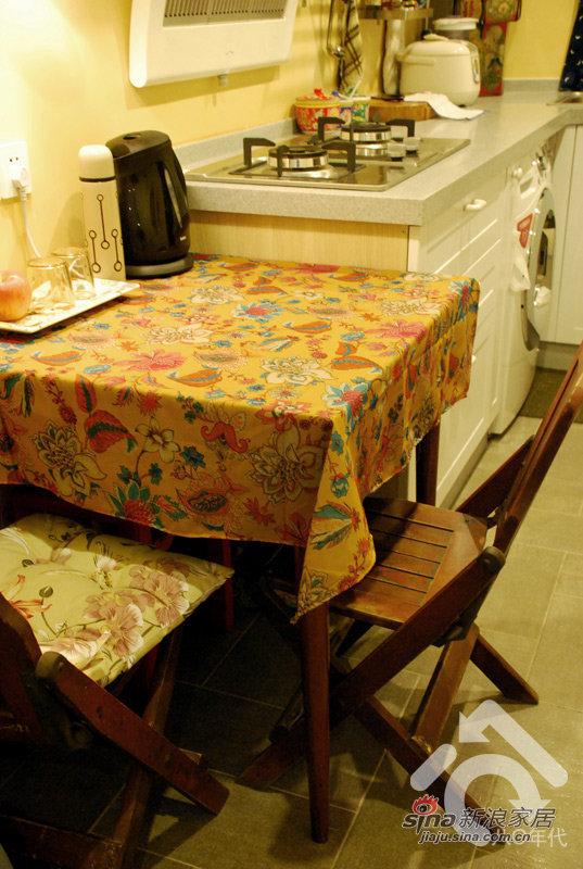 地中海 一居 餐厅图片来自用户2757320995在小夫妻5万改造30平地中海37的分享