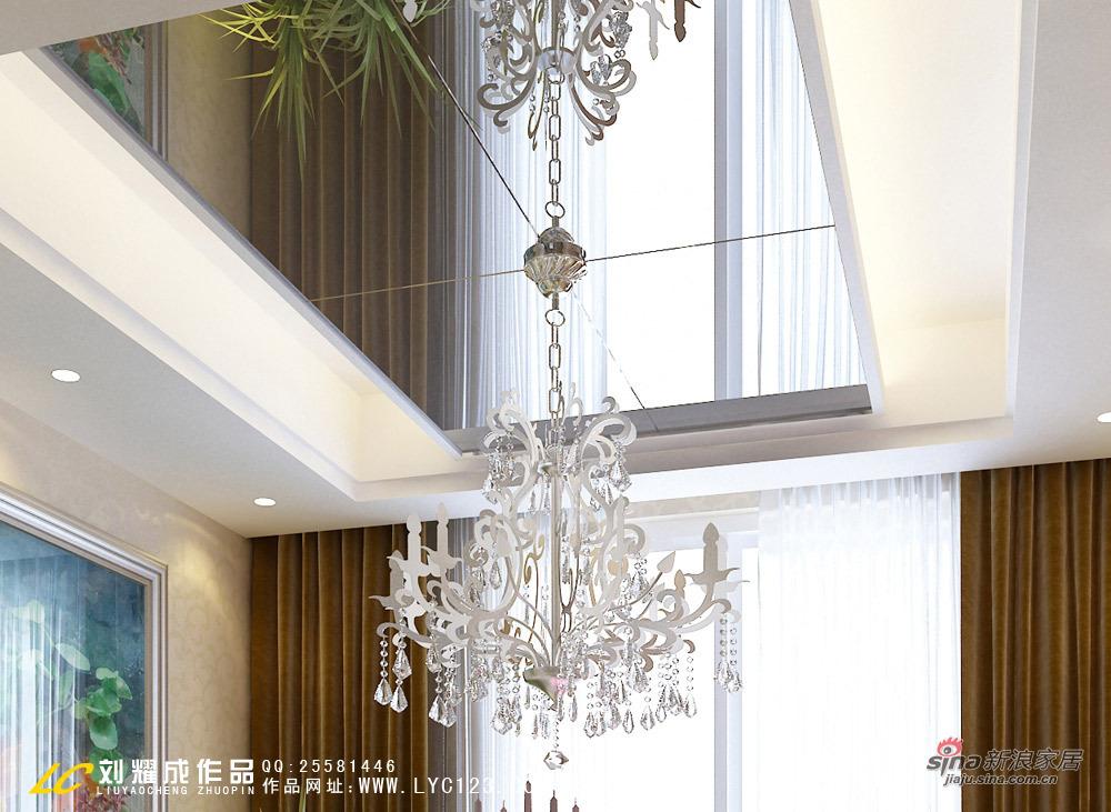 欧式 三居 餐厅图片来自用户2745758987在【高清】中年夫妇花12万装修时尚美居61的分享