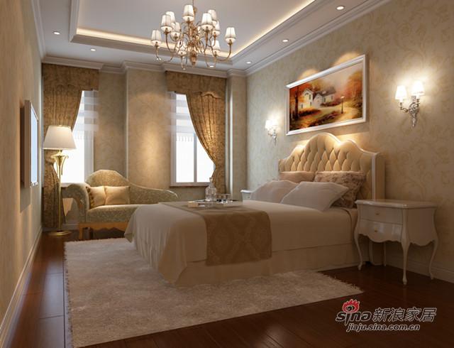 欧式 别墅 卧室图片来自用户2772856065在阿凯迪亚21的分享