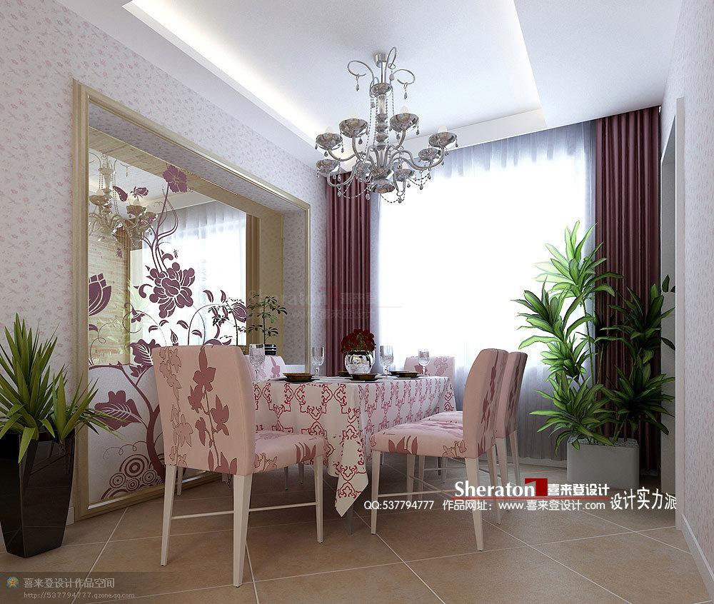 田园 三居 餐厅图片来自用户2557006183在11万打造121平蔷薇花中的乡野爱情83的分享