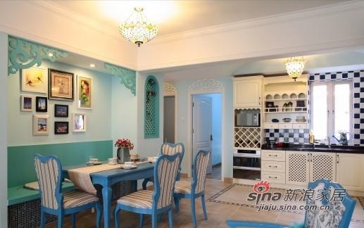 田园 三居 餐厅图片来自用户2557006183在异域蓝色土耳其的三口之家12的分享