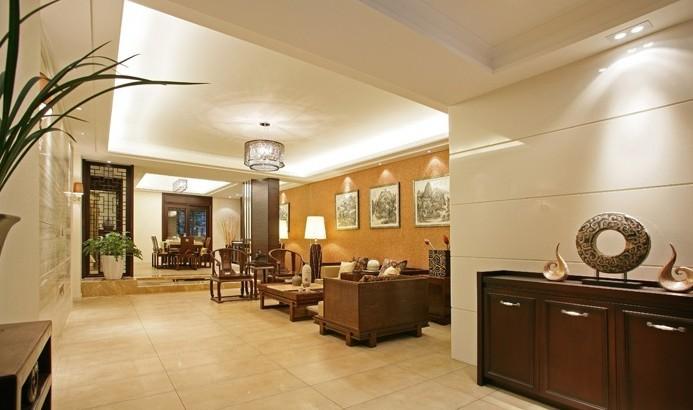 中式 别墅 客厅图片来自用户1907658205在18万呈现208平中式的迷人风采11的分享