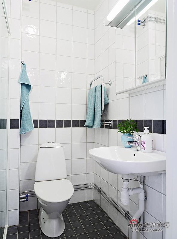 简约 一居 卫生间图片来自用户2738820801在小资女35平米极简单身公寓22的分享