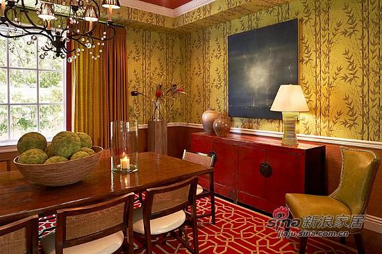 美式 复式 餐厅图片来自用户1907686233在【多图】复式美式乡村风格29的分享
