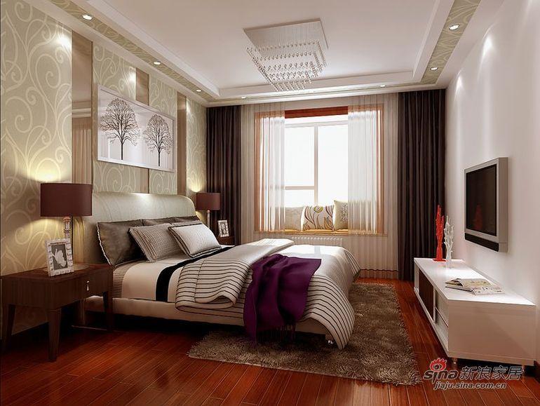 简约 四居 卧室图片来自用户2737782783在大气简约沉稳四居室28的分享