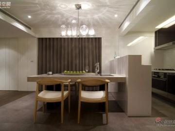【高清】132平方米纯净三居室翻新62