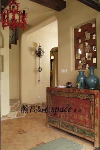 地中海 别墅 玄关图片来自用户2756243717在贝儿的城堡22的分享
