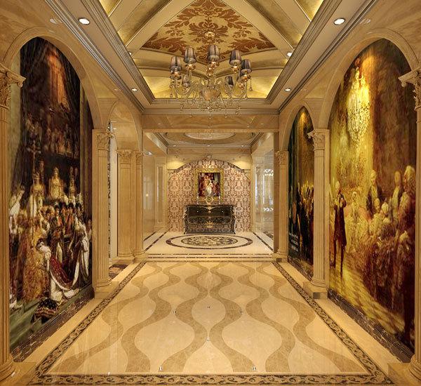 新古典 别墅 玄关图片来自用户1907701233在嘉禾城别墅34的分享