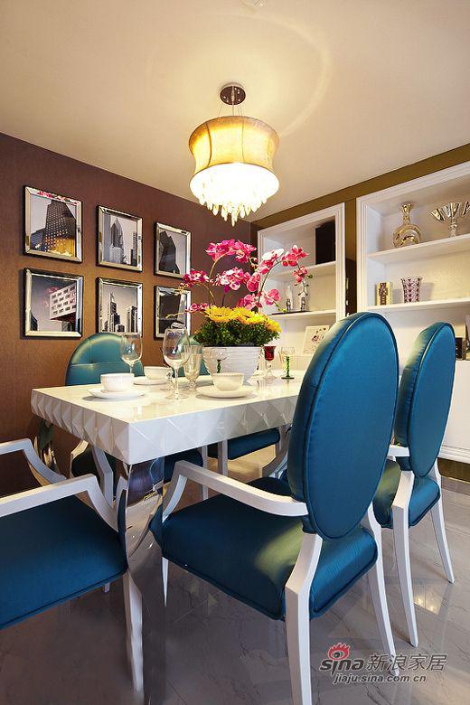 欧式 三居 餐厅图片来自用户2746948411在【青岛实创装饰】青特花溪地古典奢华3居71的分享