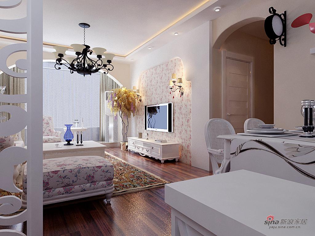 田园 二居 客厅图片来自用户2737946093在家中的小花园97的分享
