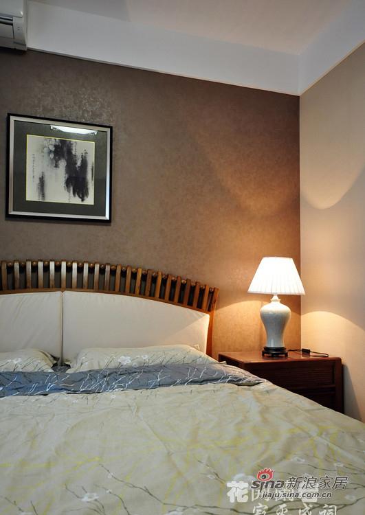 中式 复式 卧室图片来自用户1907696363在【高清】俏主妇148平清新中式风情复式81的分享