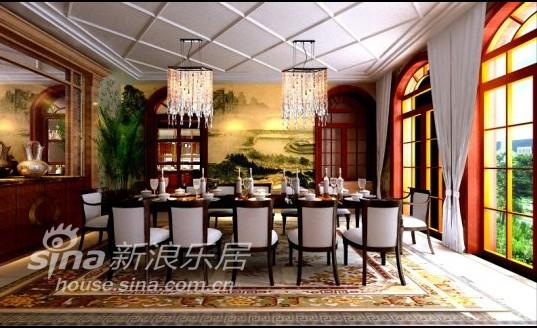 欧式 别墅 餐厅图片来自用户2746953981在金杰湖庭16的分享