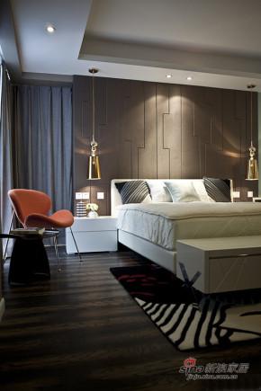 港式 三居 卧室 白领 白富美图片来自佰辰生活装饰在白领夫妻90平后现代时尚婚房91的分享