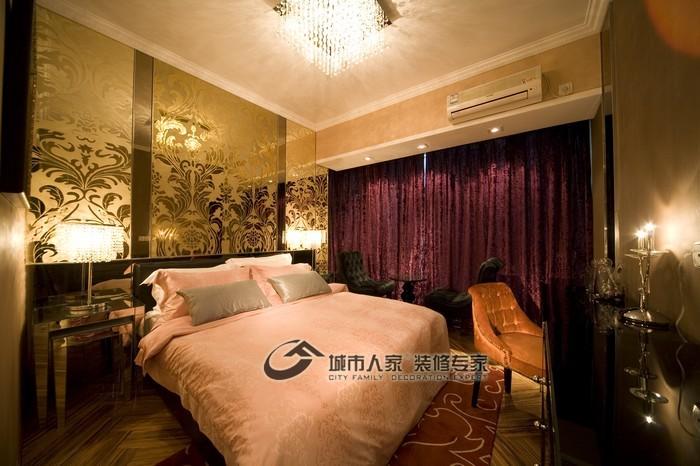 现代 三居 卧室 温馨图片来自城市人家犀犀在160平雅致主义23的分享
