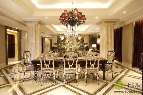 欧式 别墅 客厅图片来自用户2745758987在白金果岭85的分享