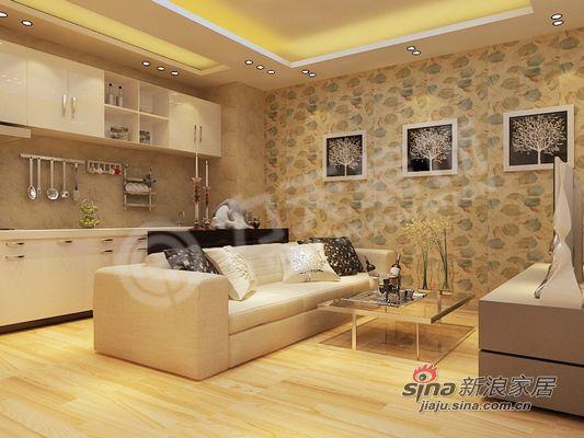 简约 二居 客厅图片来自阳光力天装饰在温馨的家,就在这里!10的分享