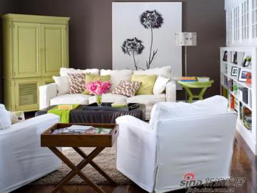 温馨迷人的客厅装饰64