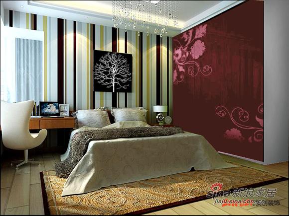 简约 loft 卧室图片来自用户2738820801在8万打造北京像素120平loft简约风格83的分享