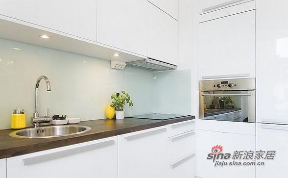 简约 一居 厨房图片来自用户2557979841在百变大咖秀40平蓝白极简公寓21的分享