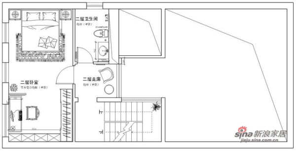 平面布置图2层