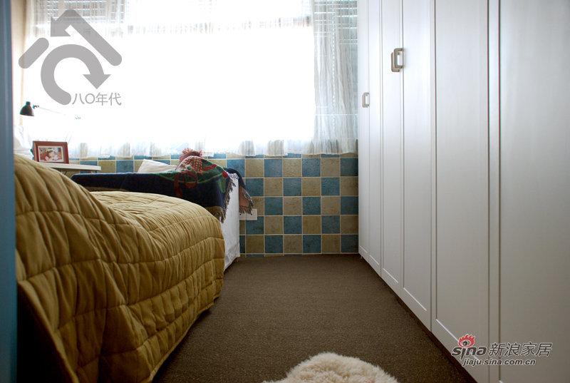 地中海 一居 卧室图片来自用户2757320995在小夫妻5万改造30平地中海37的分享