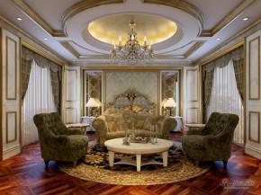 港式 三居 客厅 奢华 公主房图片来自用户1907650565在世华泊郡140平米法式风格63的分享