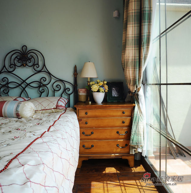 地中海 别墅 卧室图片来自用户2757320995在充满阳光的地中海80的分享