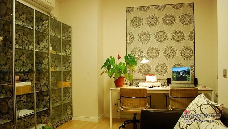 简约 二居 书房图片来自用户2737950087在8万打造简约风格二居精致小家15的分享