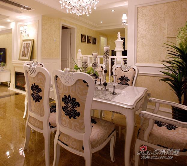 欧式 二居 餐厅图片来自用户2746869241在7.8万低调奢华2居欧式爱家29的分享