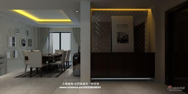 简约风格家庭装修设计-玄关设计效果图