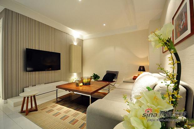 简约 三居 客厅图片来自用户2557979841在10万元打造山语城现代简约居(多图)85的分享