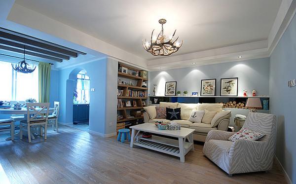 两居室装修案例 地中海风格装修案例