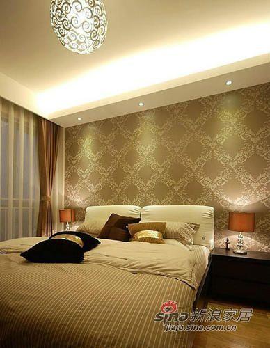 简约 三居 卧室图片来自用户2738093703在7万装修95平浪漫简约3居74的分享