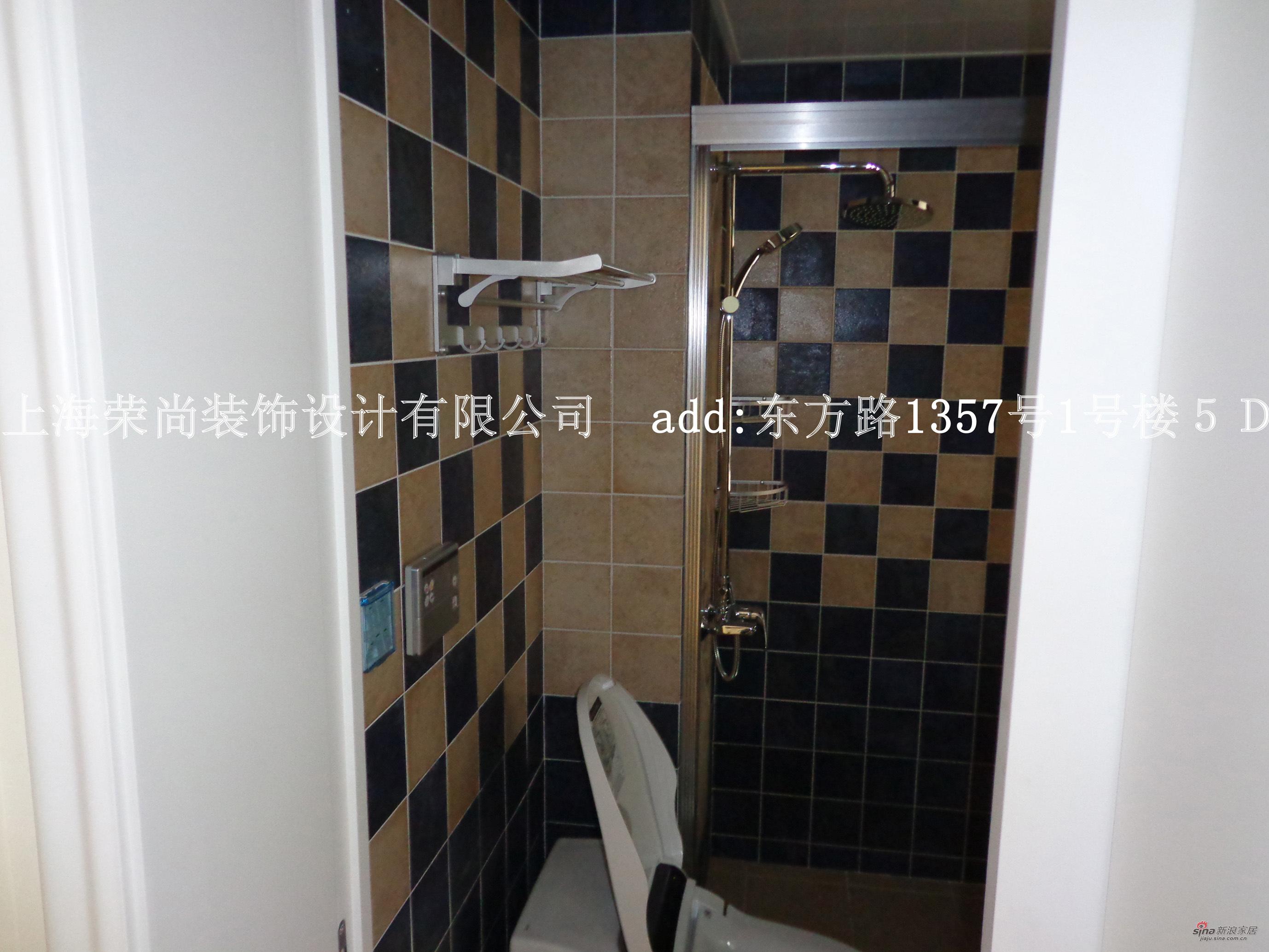 田园 三居 卫生间图片来自用户2557006183在荣尚沈洁设计师制作三房田园样板房(上)31的分享