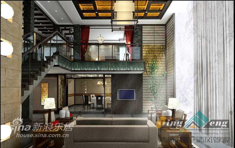 其他 别墅 客厅图片来自用户2558746857在苏州清风装饰设计师案例赏析1287的分享
