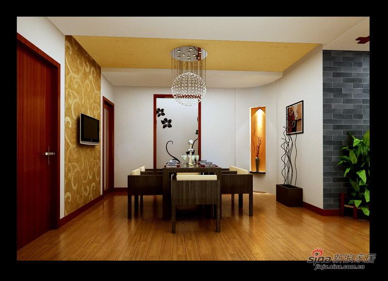 简约 三居 餐厅图片来自用户2738845145在新古典主义四口之家14的分享