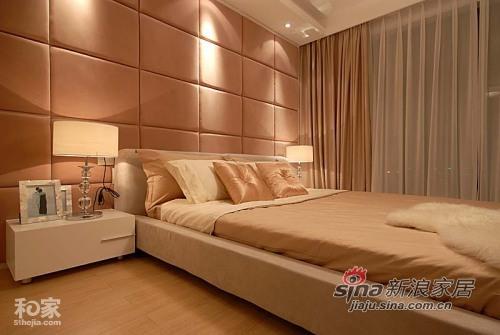 简约 一居 卧室图片来自用户2557010253在5万装100平蓝色简约爱家55的分享