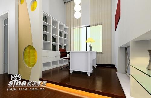 简约 四居 书房图片来自用户2738093703在金色晓岛187的分享