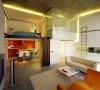 小空间大设计,这样的设计很实用。