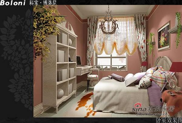 欧式 二居 卧室图片来自用户2745758987在信和嘉园 欧式两居81的分享