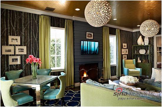 美式 复式 客厅图片来自用户1907686233在【多图】复式美式乡村风格29的分享