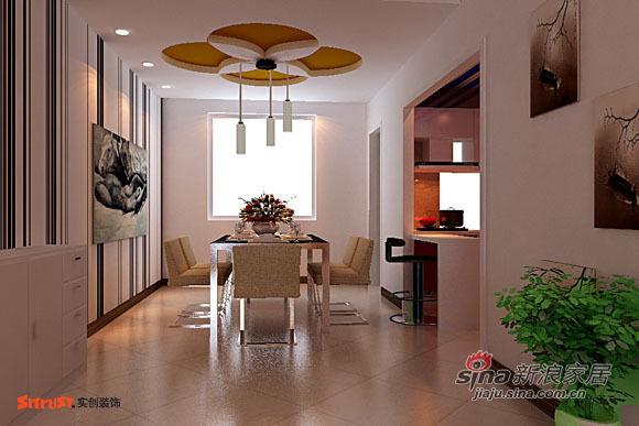 欧式 四居 餐厅图片来自用户2772873991在8万元也能装修完一套四居的房子17的分享