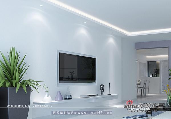 简约 三居 客厅图片来自用户2738829145在少点、再少点----极少主义风格44的分享