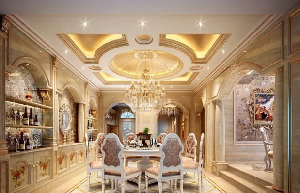 其他 别墅 餐厅图片来自用户2737948467在鸣仁装饰358平法式风格淮北翡翠岛44的分享